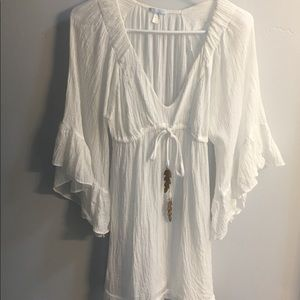 Anthropologie Eberjey Gauzy Beach Cover Up